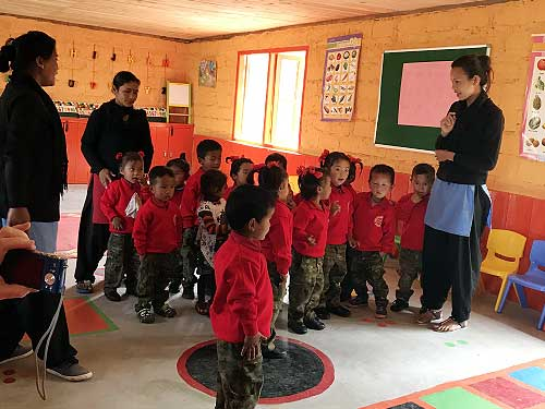Chota Suruk Nursery class in action